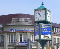 Uhrensäulen traditionell gut gesucht
